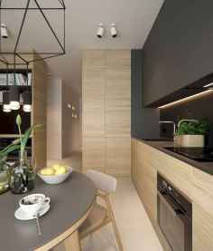 50 Amazing Small Apartment Kitchen Decor Ideas (17)