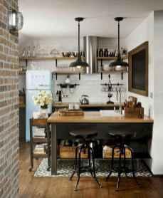 50 Amazing Small Apartment Kitchen Decor Ideas (38)