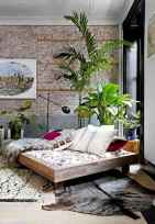 50 Incredible Apartment Bedroom Decor Ideas With Boho Style (41)