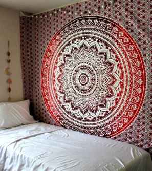 50 Incredible Apartment Bedroom Decor Ideas With Boho Style (45)