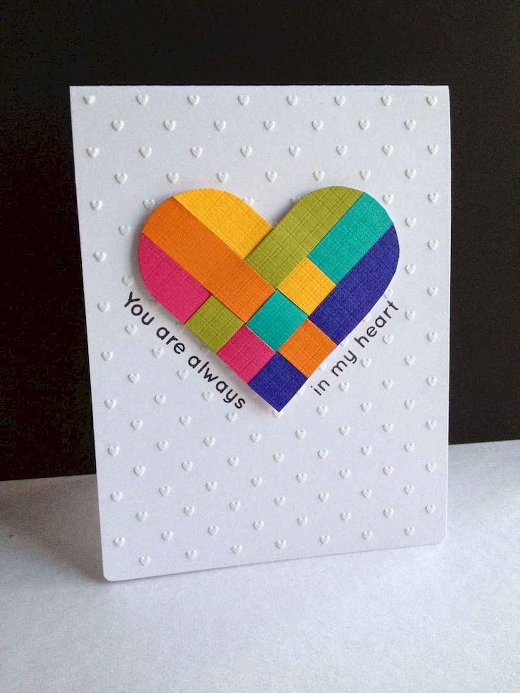 50 Romantic Valentines Cards Design Ideas (11)