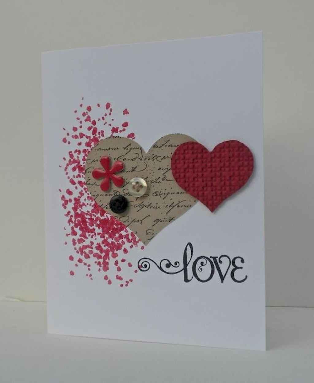50 Romantic Valentines Cards Design Ideas (15)