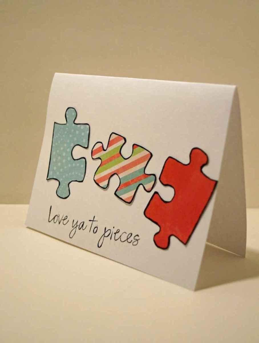 50 Romantic Valentines Cards Design Ideas (28)