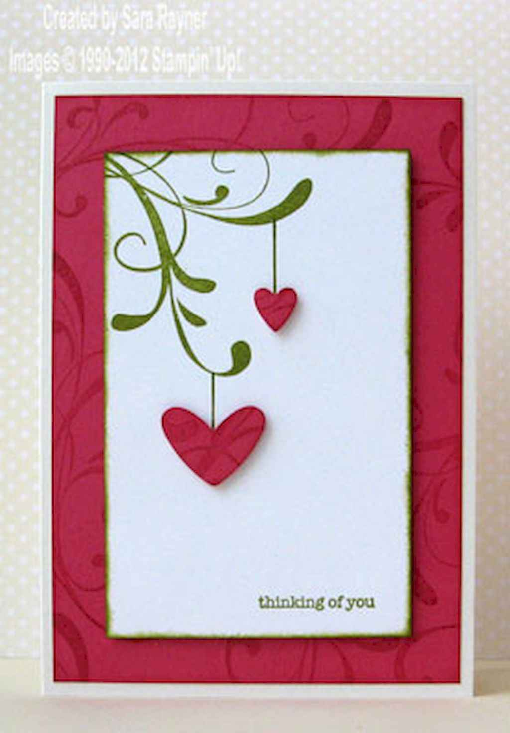 50 Romantic Valentines Cards Design Ideas (3)
