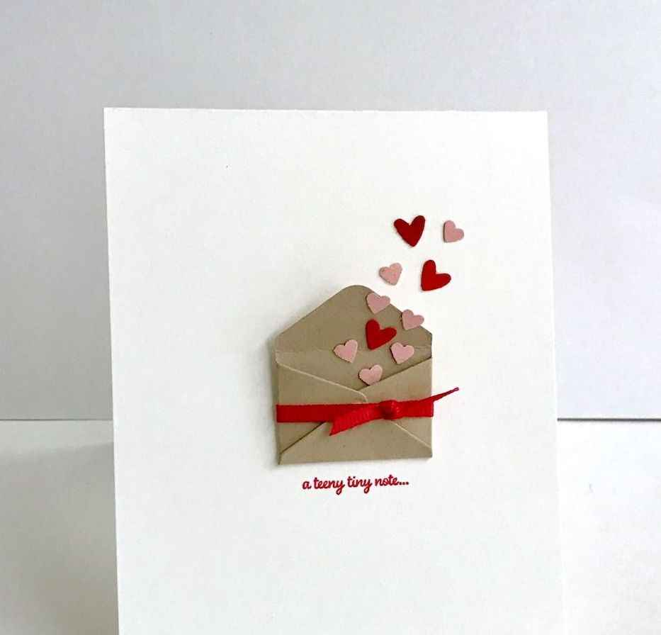 50 Romantic Valentines Cards Design Ideas (45)