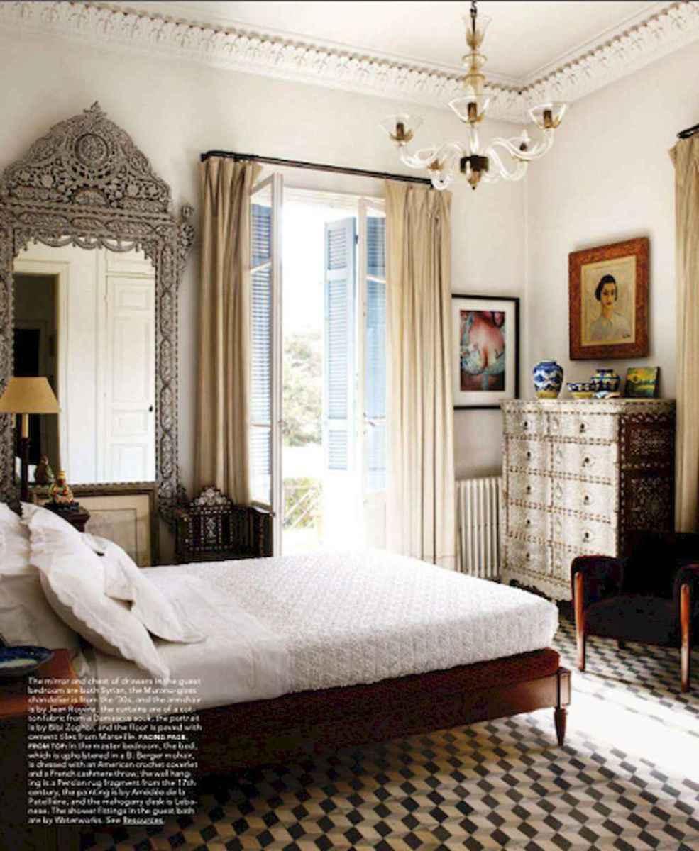 50 Stunning Vintage Apartment Bedroom Decor Ideas (36)
