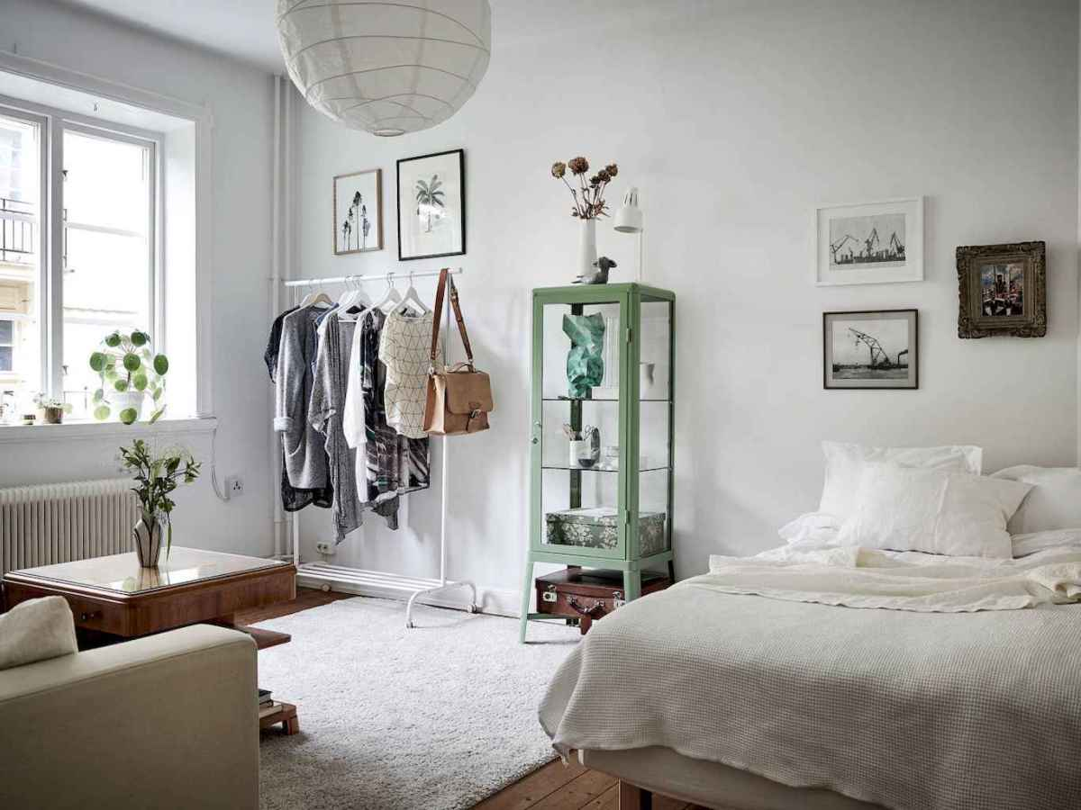 50 Stunning Vintage Apartment Bedroom Decor Ideas (52)