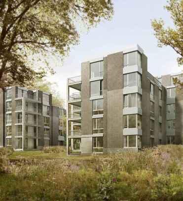 50 marvelous Modern Facade Apartment Decor Ideas (28)
