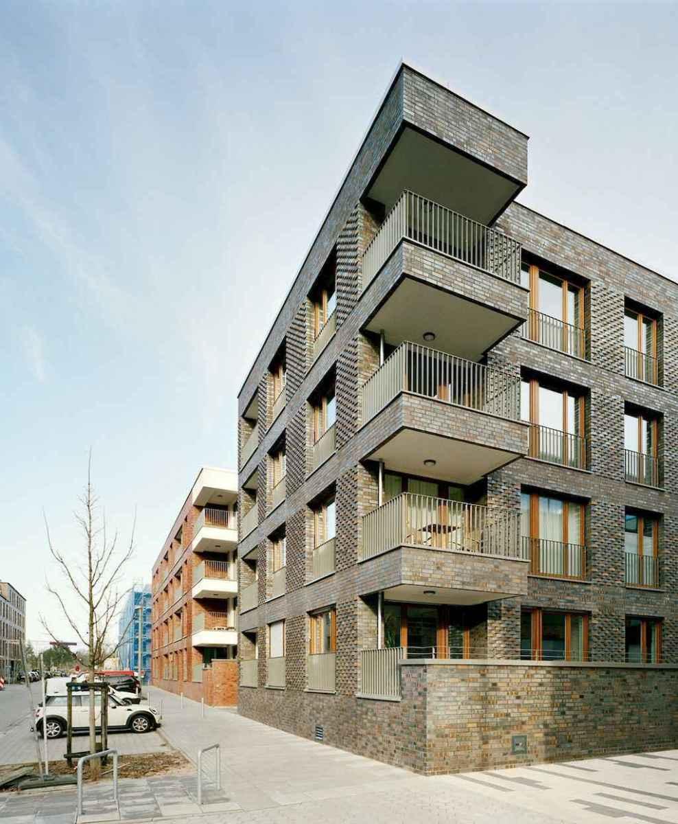 50 marvelous Modern Facade Apartment Decor Ideas (45)