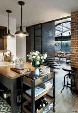 70 Cool Modern Apartment Kitchen Decor Ideas (16)