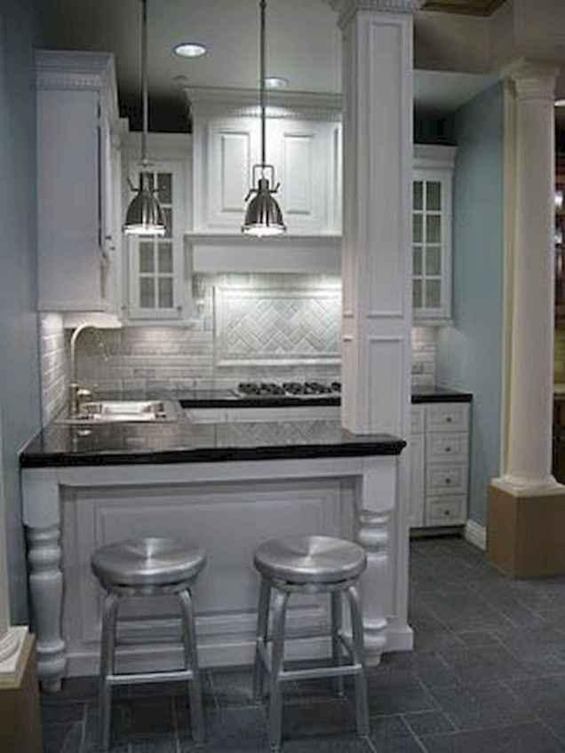 70 Cool Modern Apartment Kitchen Decor Ideas (72)