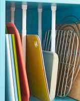 70 Surprising Apartment Kitchen Organization Decor Ideas (22)