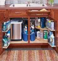 70 Surprising Apartment Kitchen Organization Decor Ideas (34)