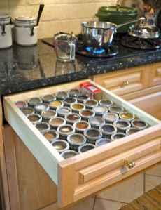 70 Surprising Apartment Kitchen Organization Decor Ideas (5)