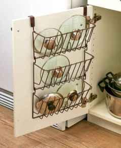 70 Surprising Apartment Kitchen Organization Decor Ideas (54)