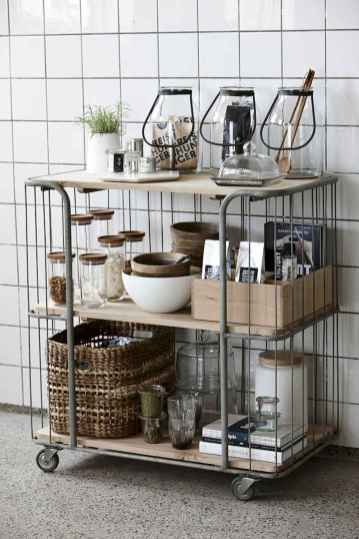 70 Surprising Apartment Kitchen Organization Decor Ideas (62)
