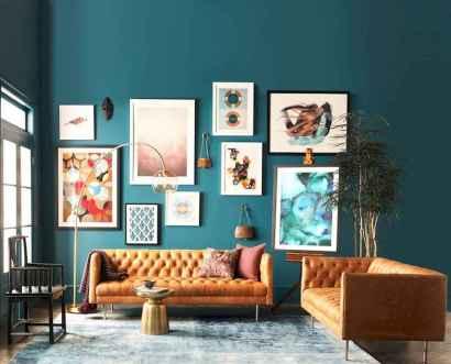 80 Pretty Modern Apartment Living Room Decor Ideas (11)