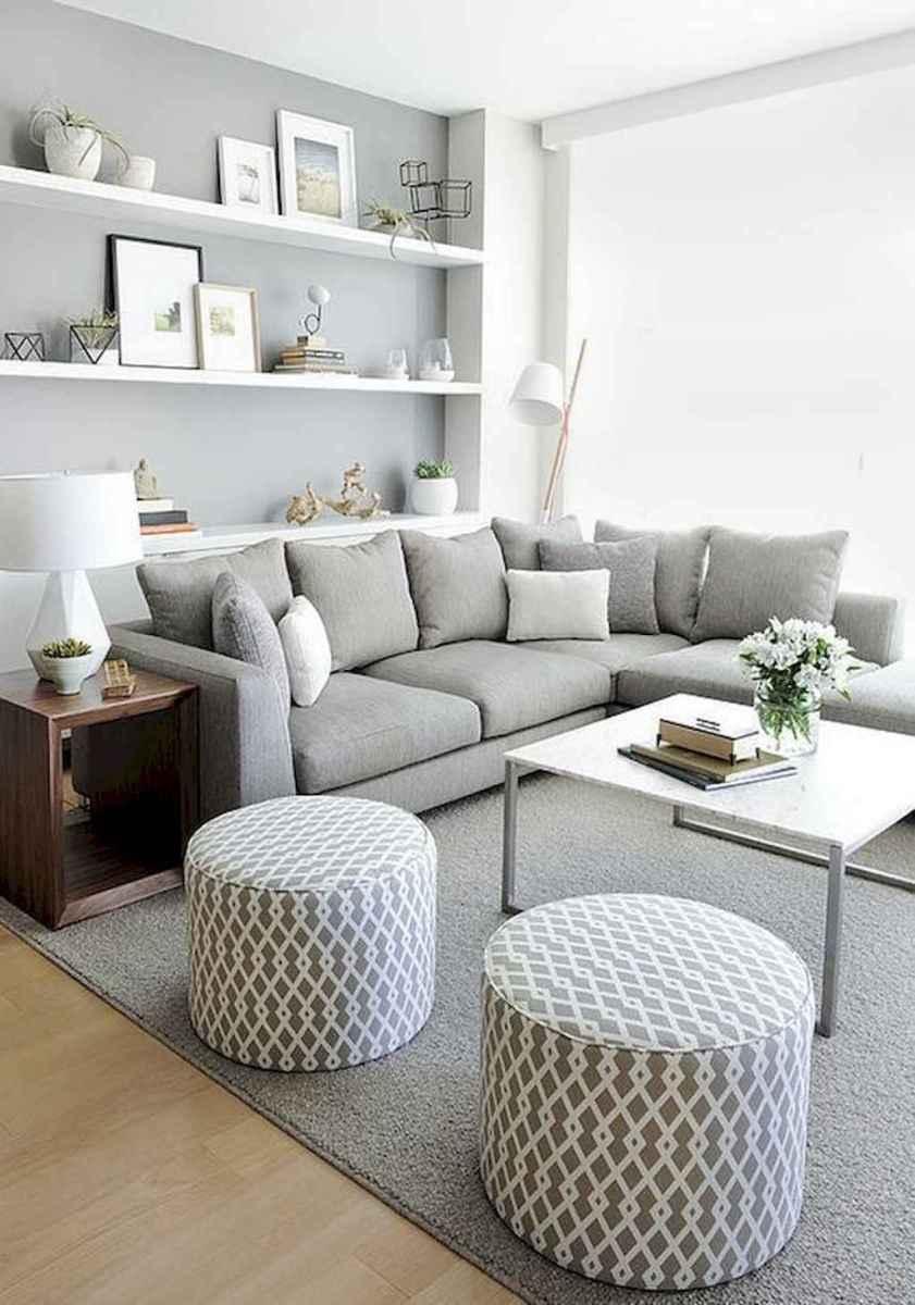 80 Pretty Modern Apartment Living Room Decor Ideas (14)