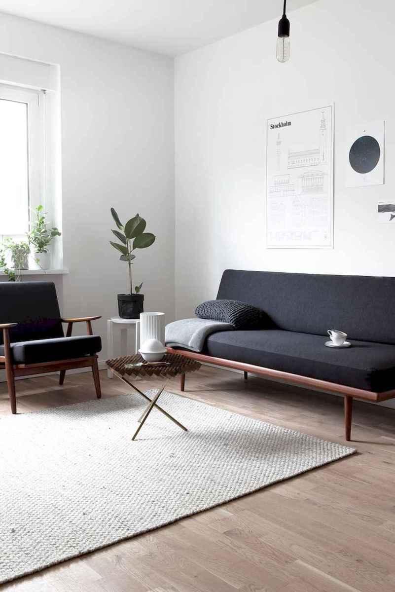 80 Pretty Modern Apartment Living Room Decor Ideas (17)