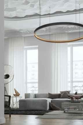 80 Pretty Modern Apartment Living Room Decor Ideas (59)