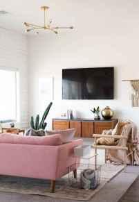 80 Pretty Modern Apartment Living Room Decor Ideas (74)