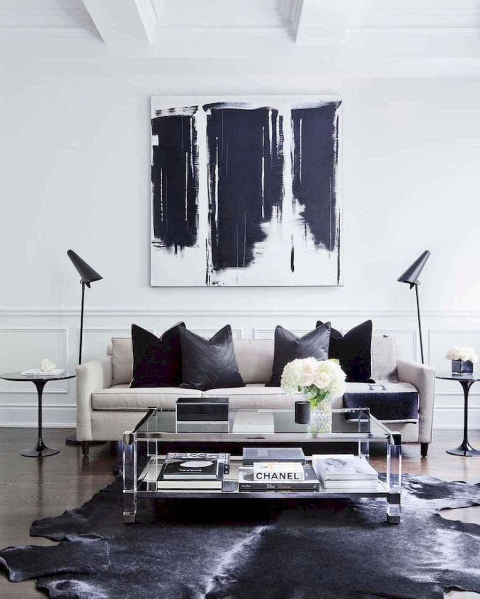 80 Pretty Modern Apartment Living Room Decor Ideas (76)