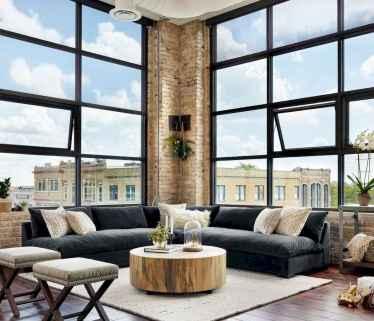 80 Pretty Modern Apartment Living Room Decor Ideas (8)