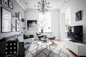 80 Smart Solution Small Apartment Living Room Decor Ideas (4)