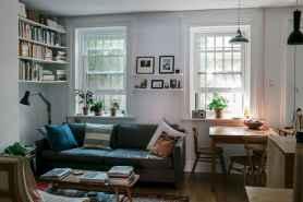 80 Smart Solution Small Apartment Living Room Decor Ideas (66)