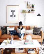 88 Beautiful Apartment Living Room Decor Ideas With Boho Style (27)