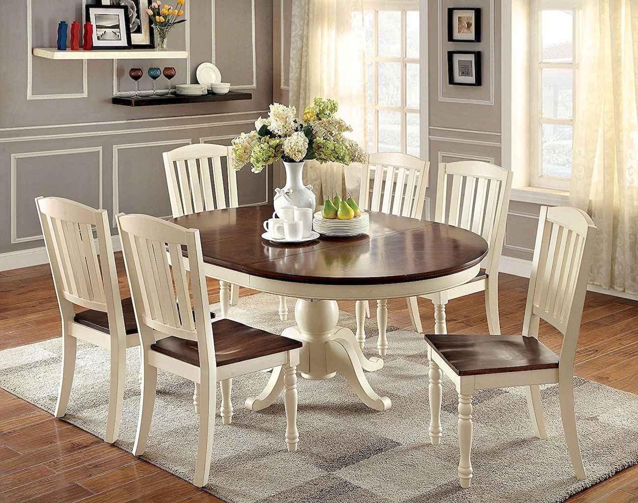 100 Rustic Farmhouse Dining Room Decor Ideas (15)
