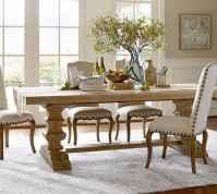 100 Rustic Farmhouse Dining Room Decor Ideas (20)