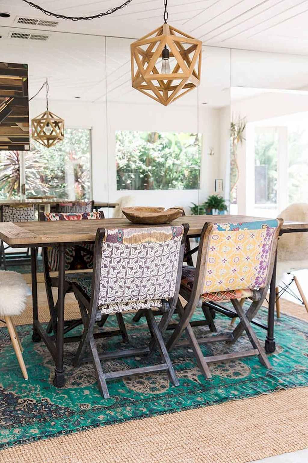 100 Rustic Farmhouse Dining Room Decor Ideas (26)