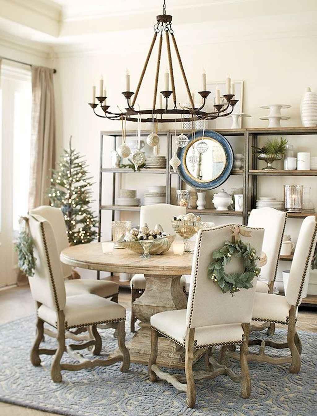 100 Rustic Farmhouse Dining Room Decor Ideas (27)