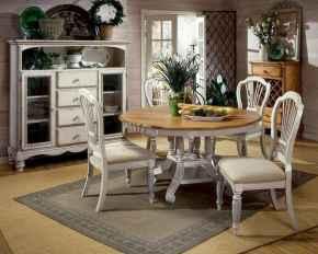 100 Rustic Farmhouse Dining Room Decor Ideas (30)