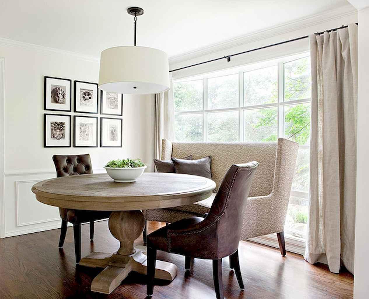 100 Rustic Farmhouse Dining Room Decor Ideas (43)