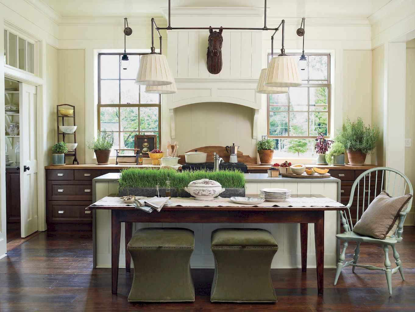 100 Rustic Farmhouse Dining Room Decor Ideas (51)