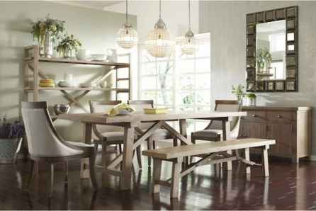 100 Rustic Farmhouse Dining Room Decor Ideas (56)