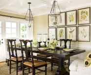 100 Rustic Farmhouse Dining Room Decor Ideas (58)