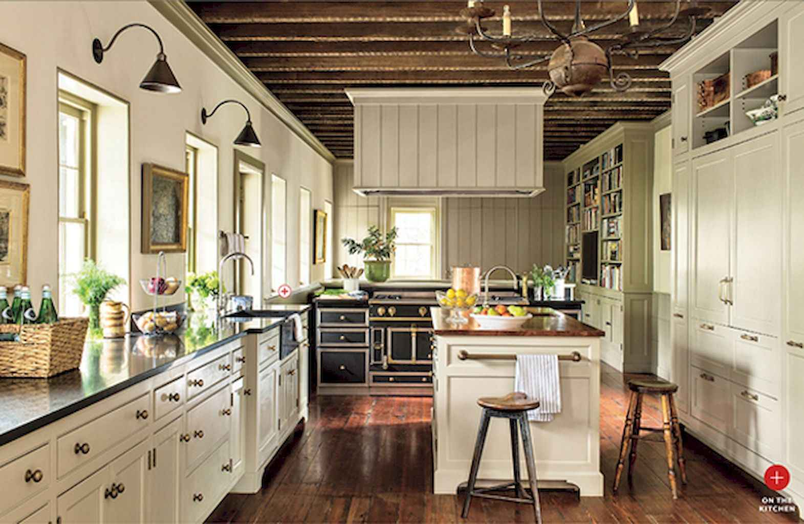 100 Rustic Farmhouse Dining Room Decor Ideas (65)