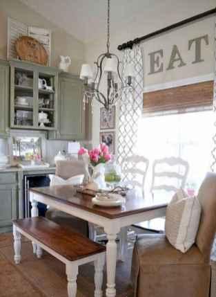 100 Rustic Farmhouse Dining Room Decor Ideas (75)
