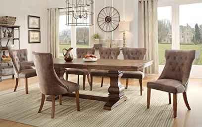 100 Rustic Farmhouse Dining Room Decor Ideas 9