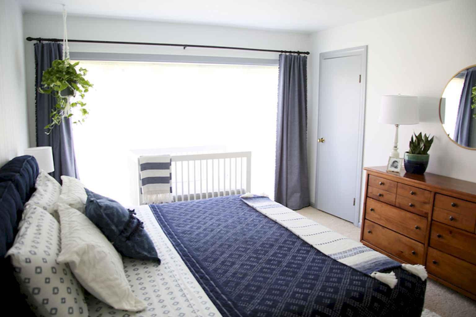 100 Stunning Farmhouse Master Bedroom Decor Ideas (17)