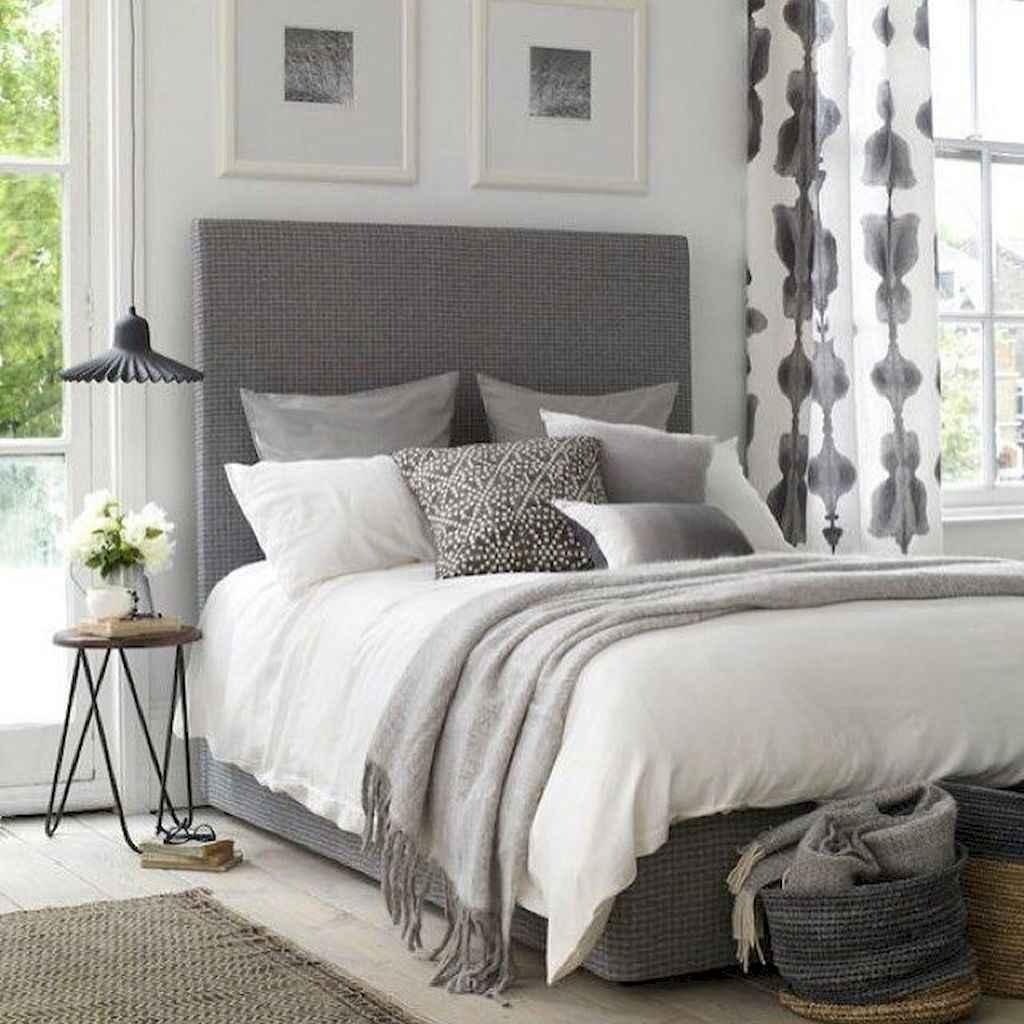 100 Stunning Farmhouse Master Bedroom Decor Ideas (43)