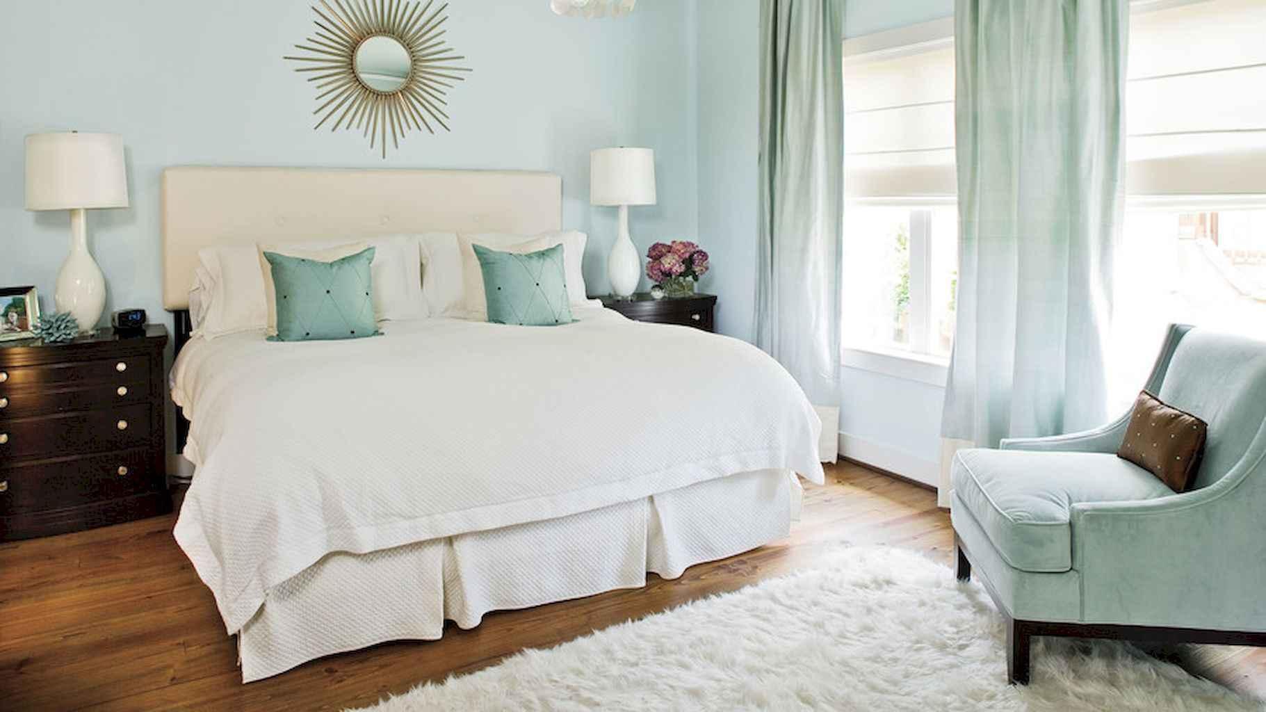 100 Stunning Farmhouse Master Bedroom Decor Ideas (44)