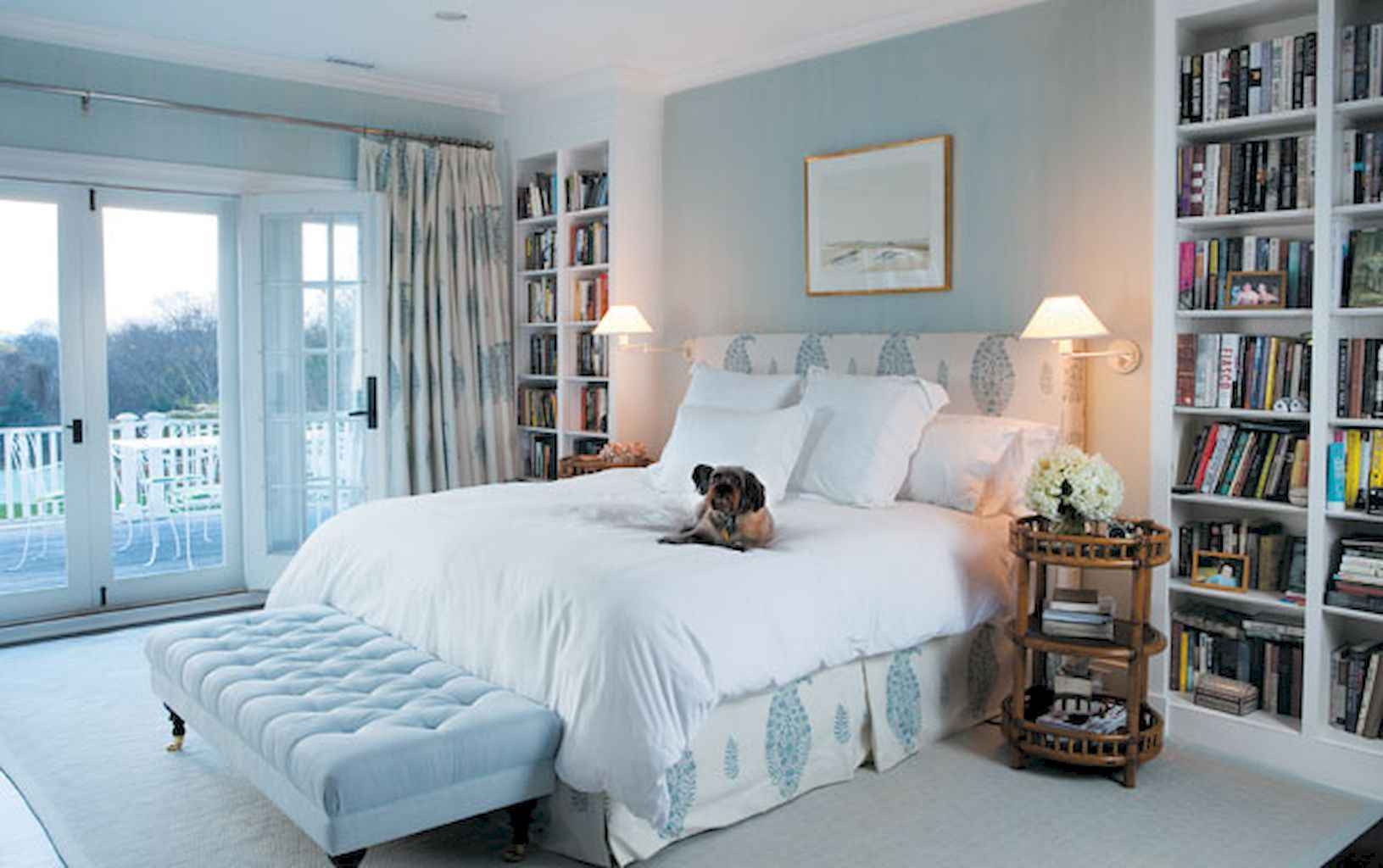 100 Stunning Farmhouse Master Bedroom Decor Ideas (49)