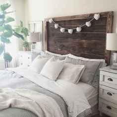 100 Stunning Farmhouse Master Bedroom Decor Ideas (69)
