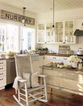 110 Amazing Farmhouse Kitchen Decor Ideas (17)