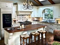 110 Amazing Farmhouse Kitchen Decor Ideas (2)