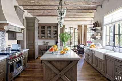 110 Amazing Farmhouse Kitchen Decor Ideas (29)